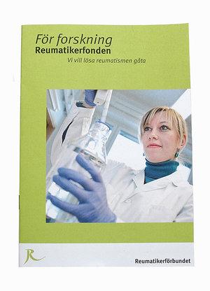 För forskning, Reumatikerfonden. Vi vill lösa reumatismen gåta - Gratis