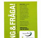 Informationskort Reuma Direkt A5 - Gratis